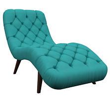Estate Linen Turquoise Copenhagen Chaise
