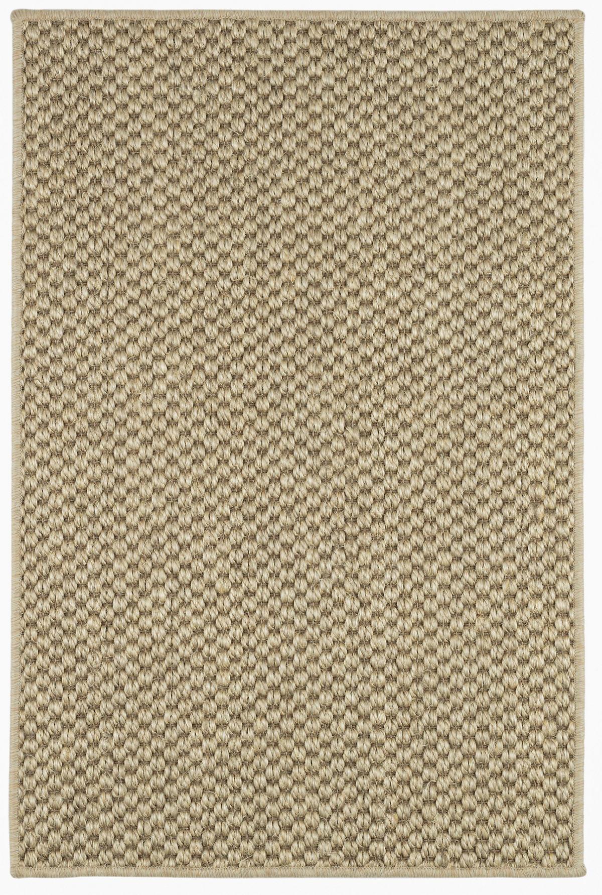 Corden Honey Woven Sisal Custom Rug With Pad