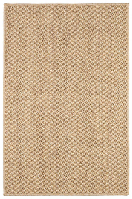Corden Natural Woven Sisal Custom Rug With Pad
