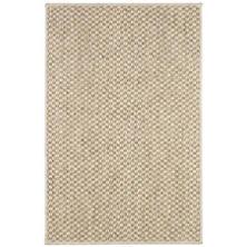 Corden Sand Woven Sisal Custom Rug With Pad
