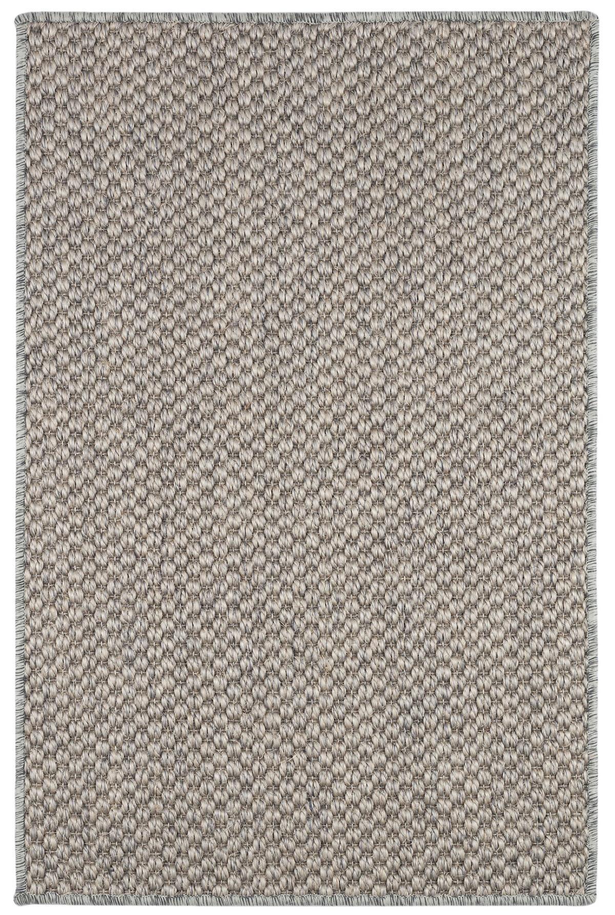 Corden Silver Woven Sisal Custom Rug