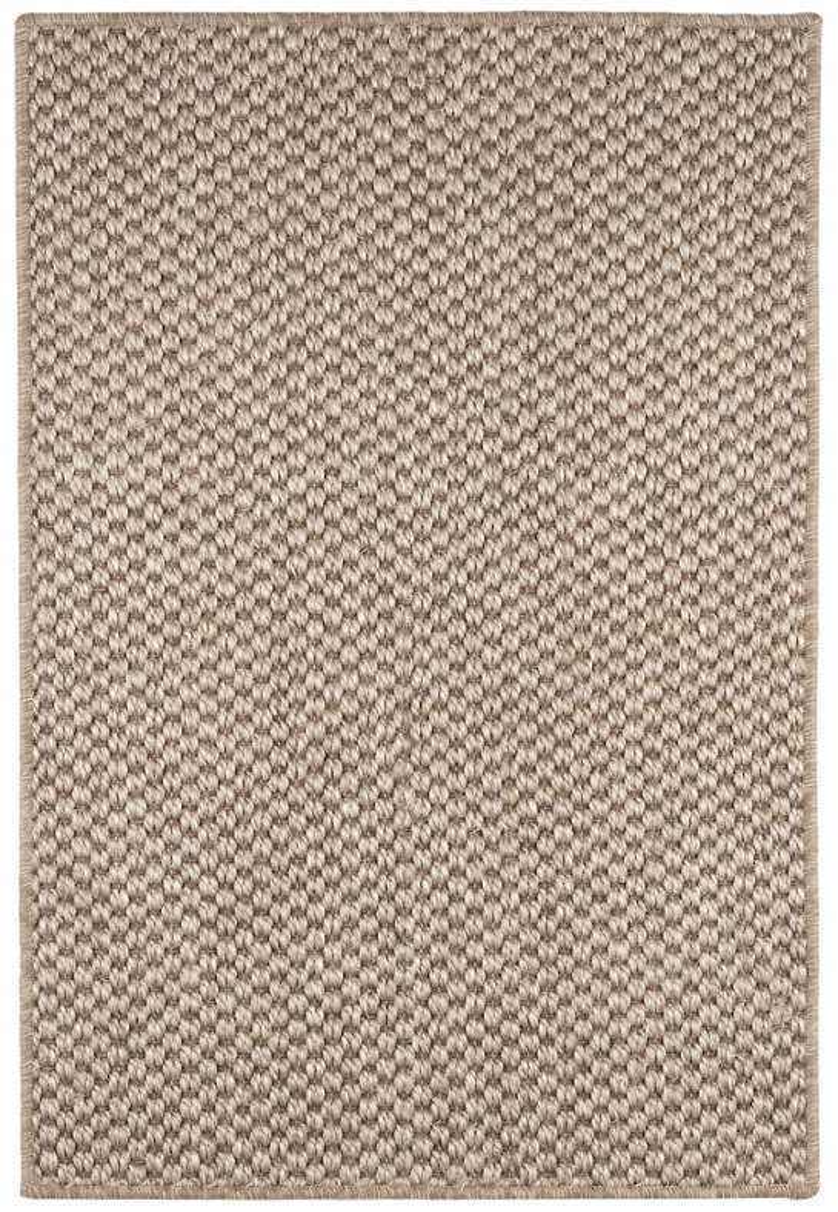 Corden Taupe Woven Sisal Custom Rug