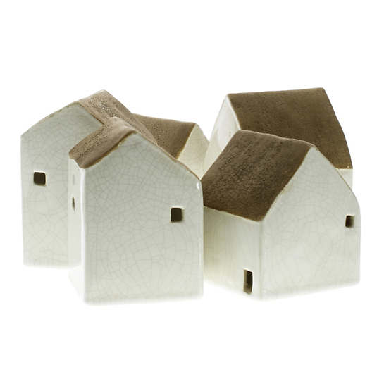 Cotswold Ceramic Cottages/Set Of 5
