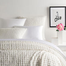 Gridwick Dove White Coverlet