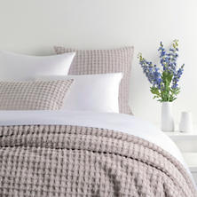 Gridwick Grey Coverlet