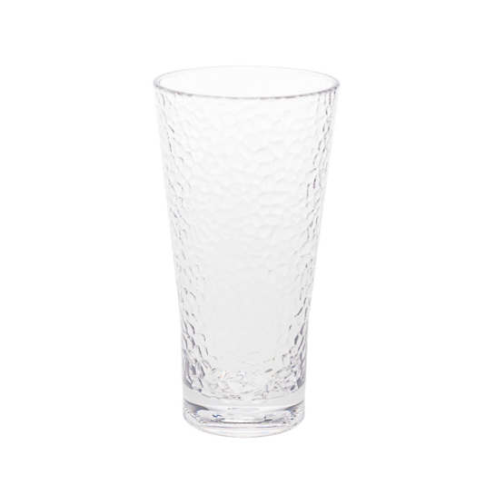 Crackle Clear Tumbler/Set Of 4