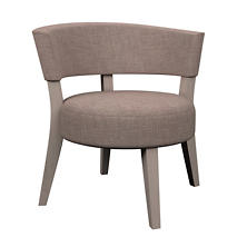 Canvasuede Heather Crescent Chair