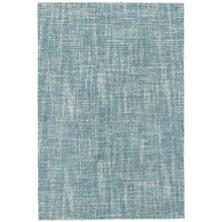 Crosshatch Aegean Wool Micro Hooked Rug