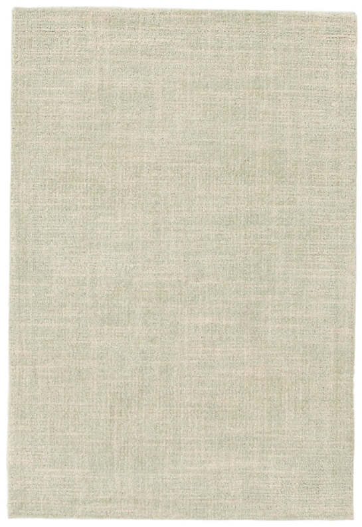 Crosshatch Celadon Wool Micro Hooked Rug