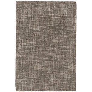 4 by 6 rug. Crosshatch Charcoal Wool Micro Hooked Rug 4 By 6 G