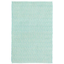 Crystal Aqua/Ivory Indoor/Outdoor Rug