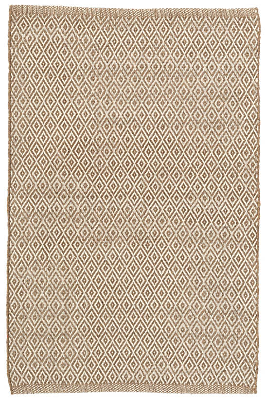 Crystal Brown/Ivory Indoor/Outdoor Rug