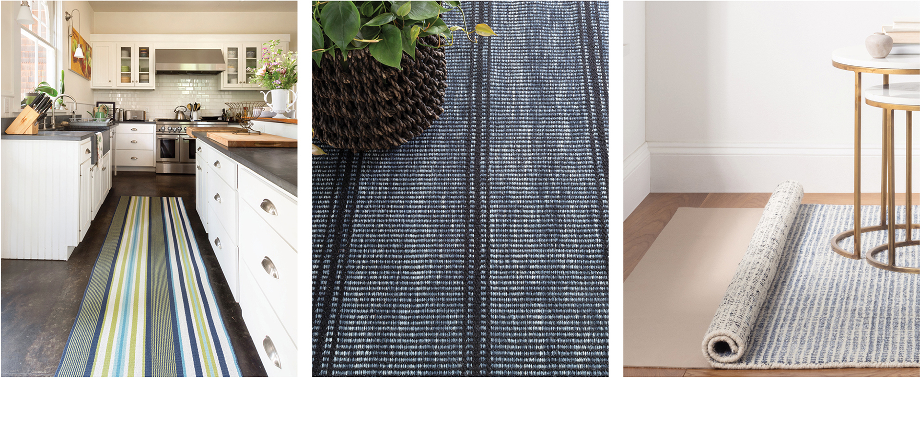 Shop Wool Rugs & Mini Rug Ottomans