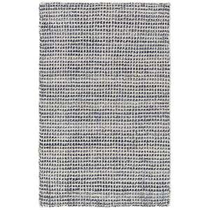 Shop Homer Blue Loom Knotted Wool/Viscose Rug