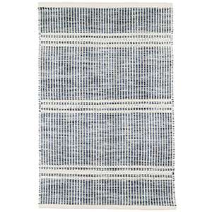 Shop Malta Blue Woven Wool Rug
