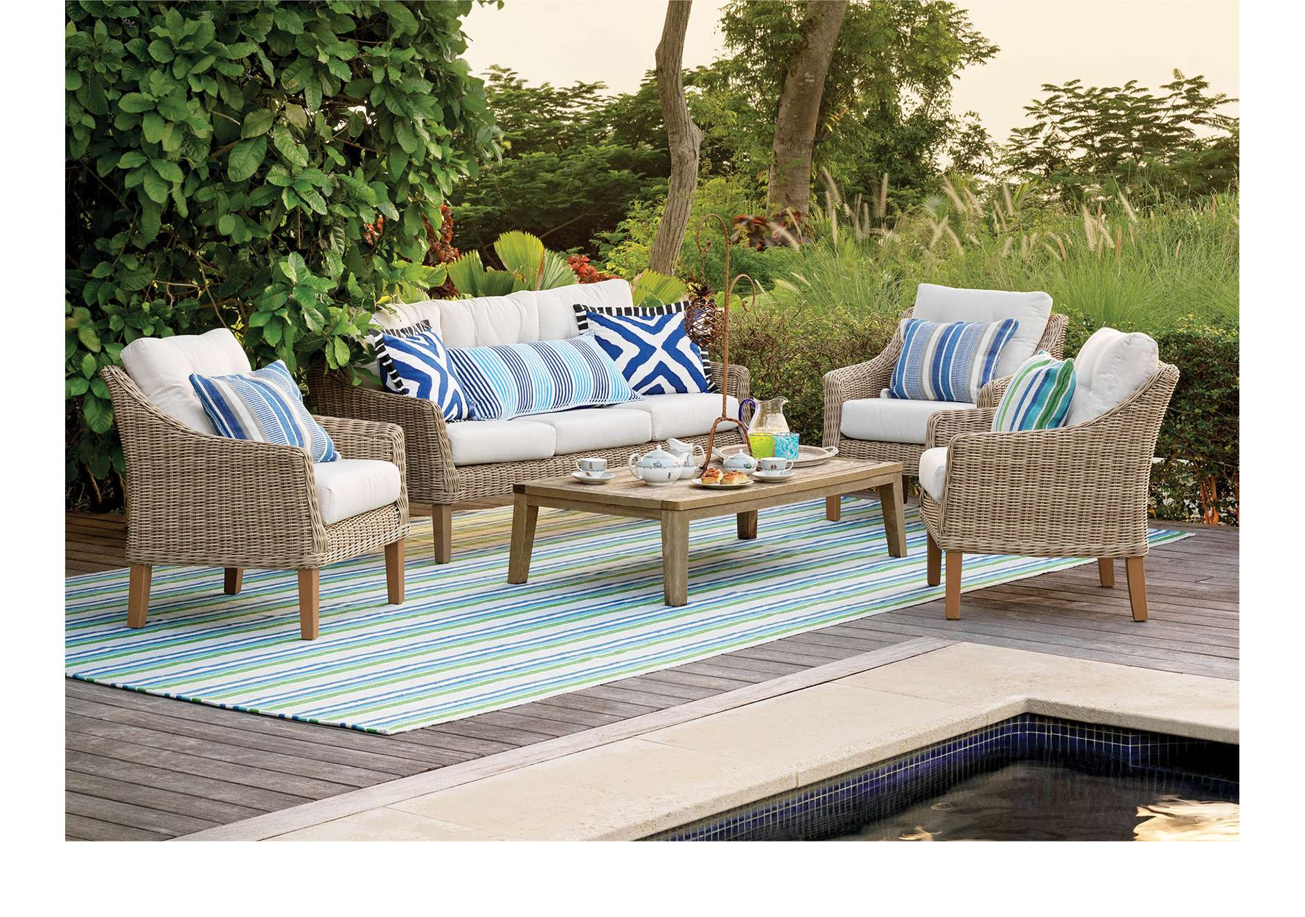 Shop Jute Rugs and Rug Ottomans