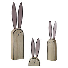 Cecily Bunny/Set Of 3