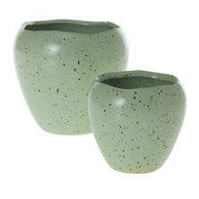 Speckled Vessel/Set Of 2