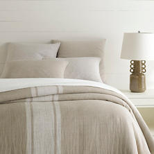 Maxwell Linen Natural Duvet Cover