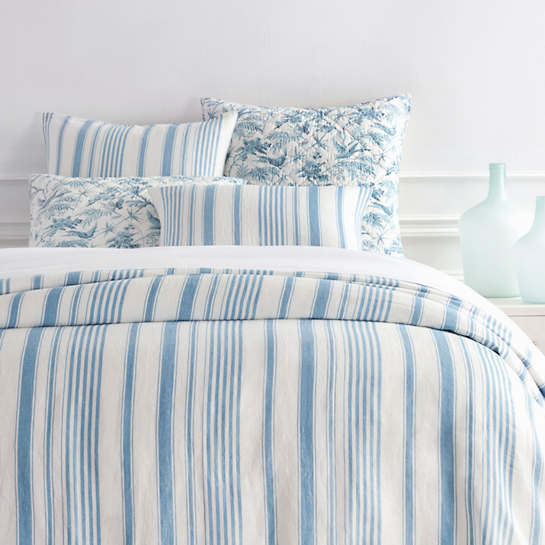 Montebello Asiatic Blue Duvet Cover