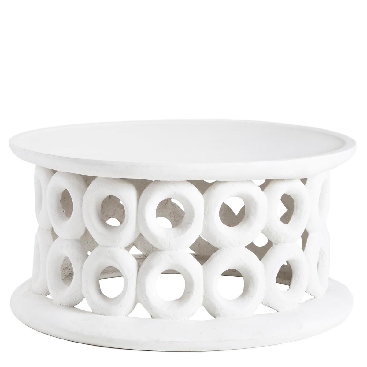 Dagen White Coffee Table