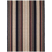 Dakota Stripe Woven Cotton Rug