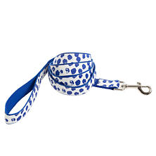 Dalmatian White/Blue Leash