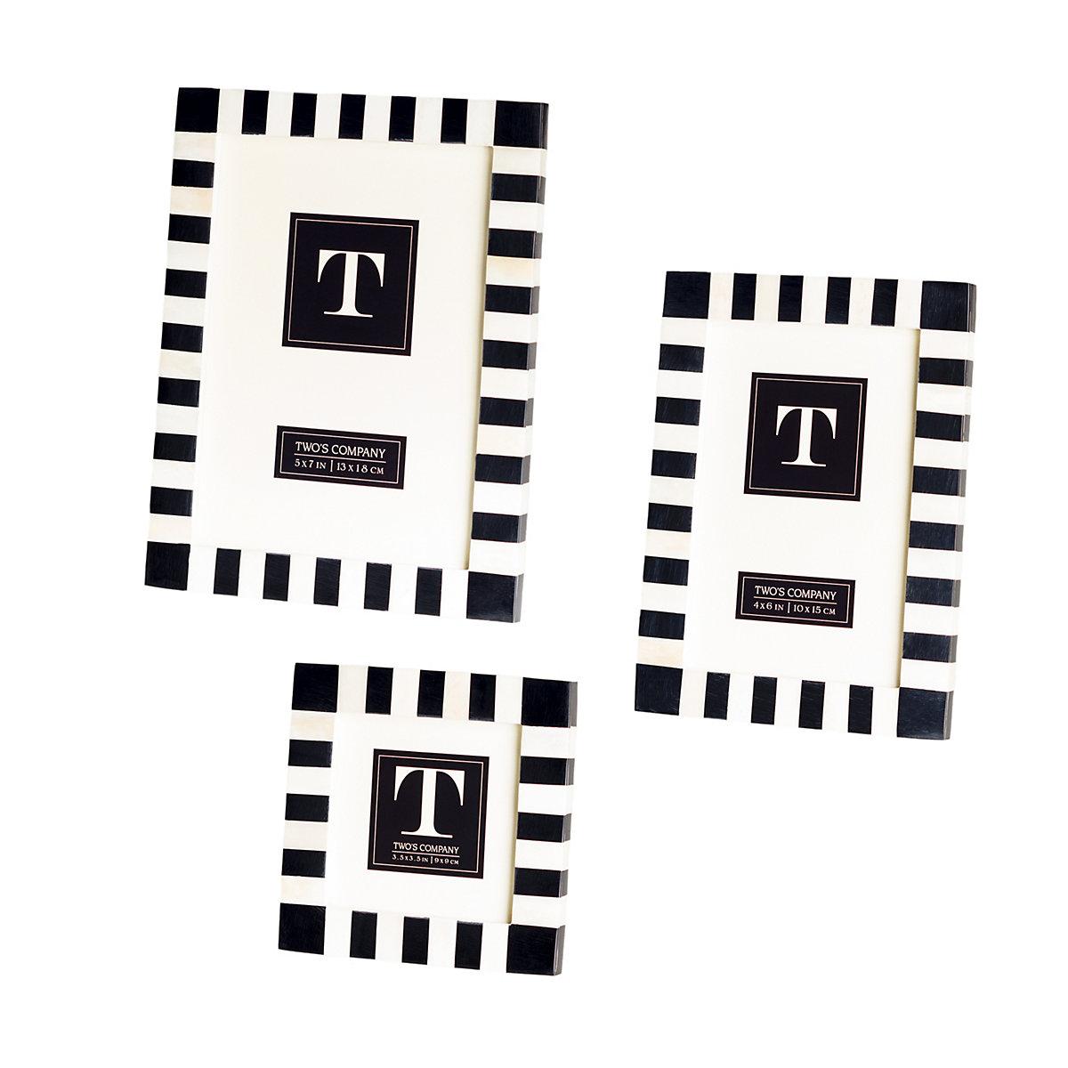 Dash Black/White Frame/Set Of 3   Furniture