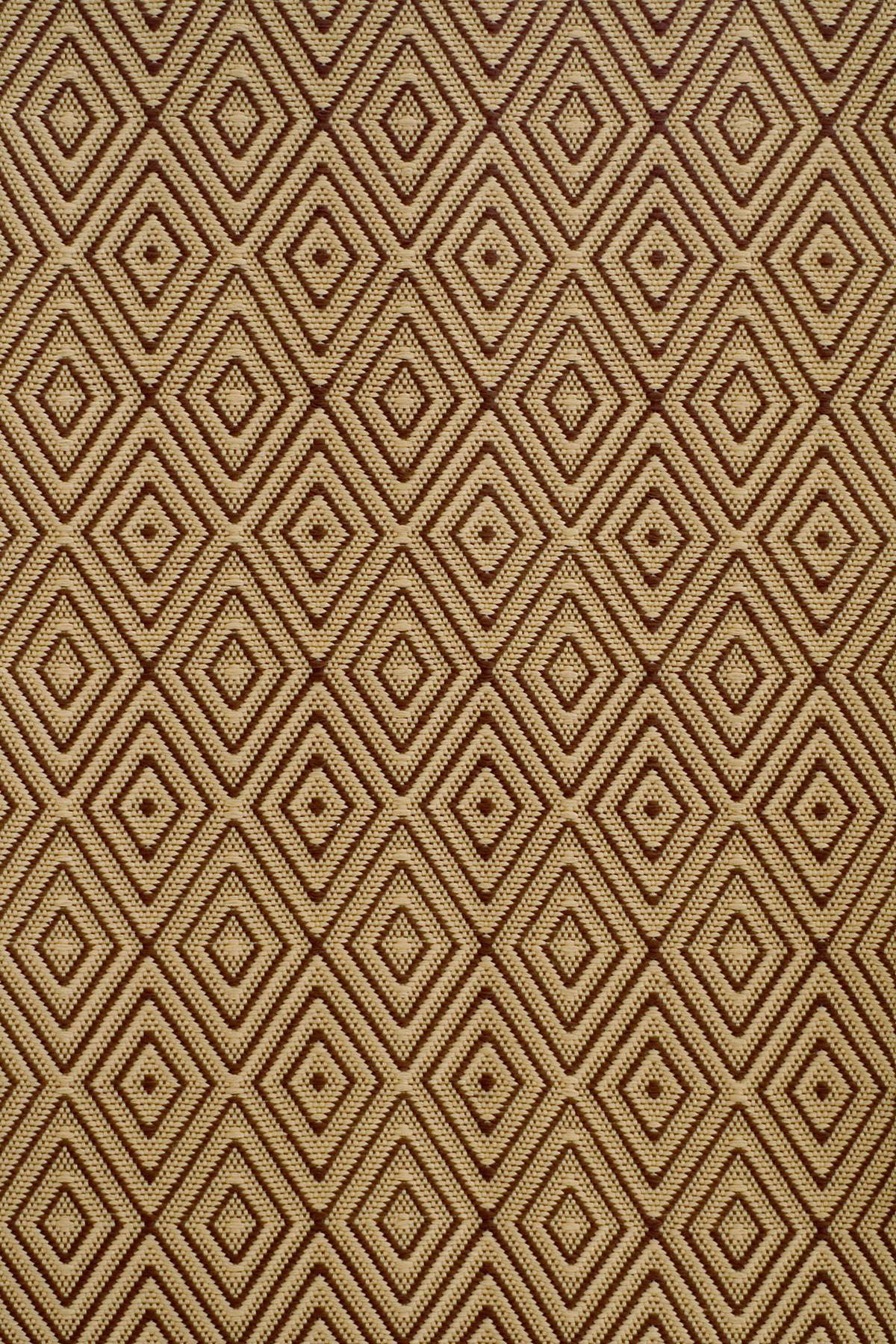 Diamond Brown/Khaki Indoor/Outdoor Rug