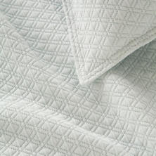 Diamond Ice Matelassé Coverlet