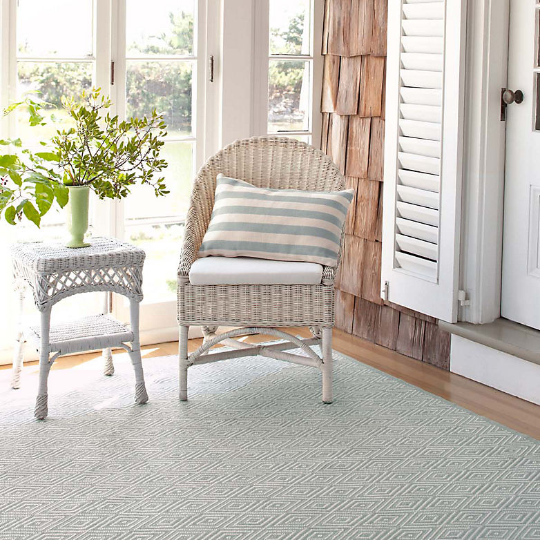 Rugs Through the Years: Diamond | Annie Selke's Fresh American Style