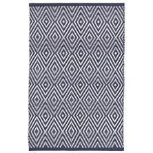 Diamond Navy/Ivory Indoor/Outdoor Rug