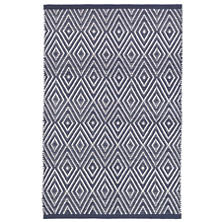 Diamond Navy/White Indoor/Outdoor Rug