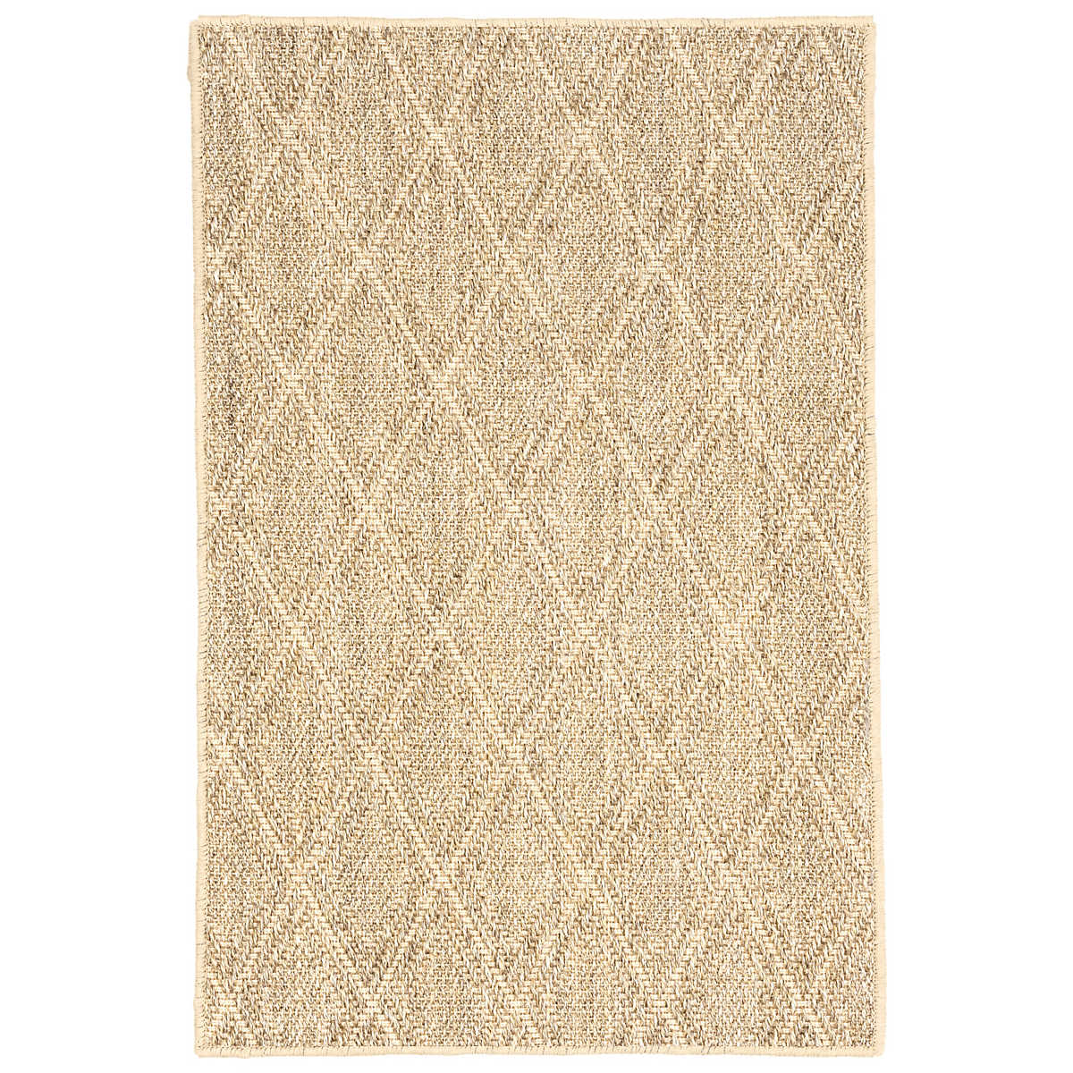 Diamond Sand Woven Sisal Rug Dash Albert