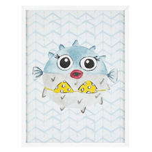 Diva Blowfish  Wall Art