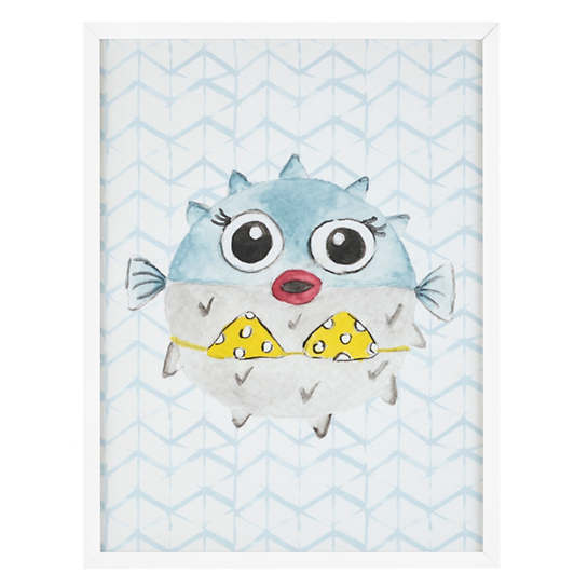 Diva Blowfish  Wall Art