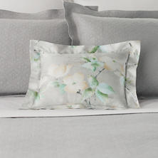 Dogwood Zinc Decorative Pillow