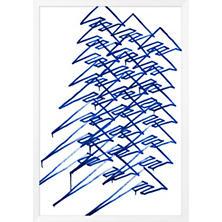 Doodle Blue Art