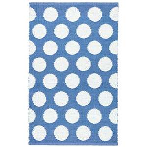 Dot French Blue Indoor Outdoor Rug