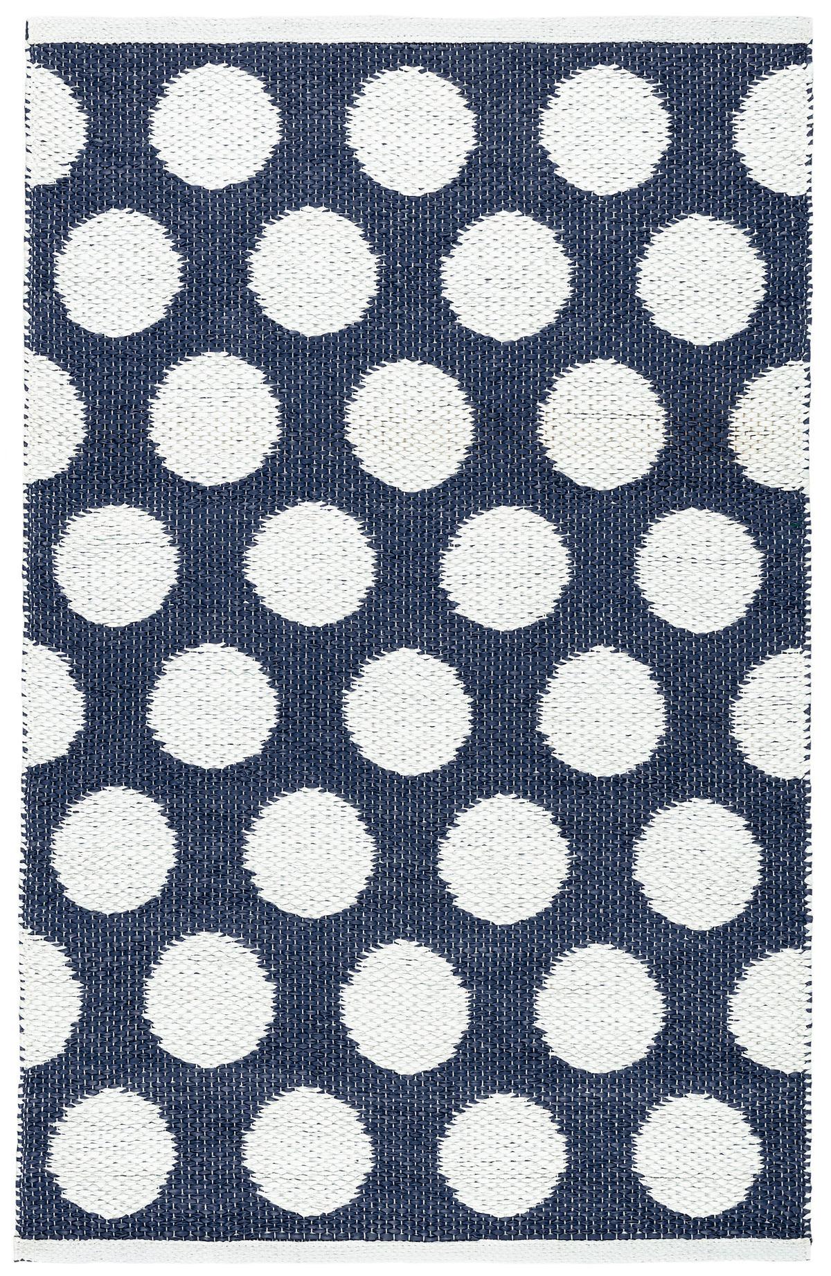 Dot Navy Indoor/Outdoor Rug