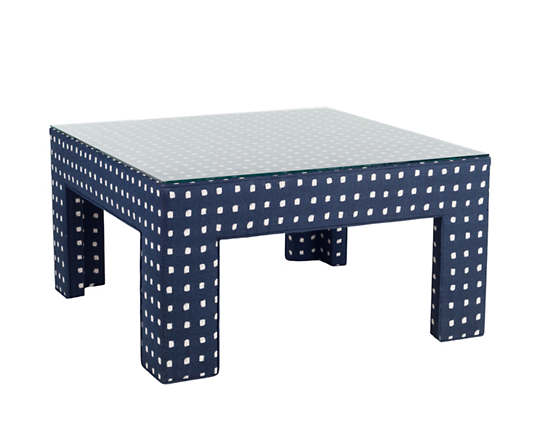 Dots Indigo Coffee Table