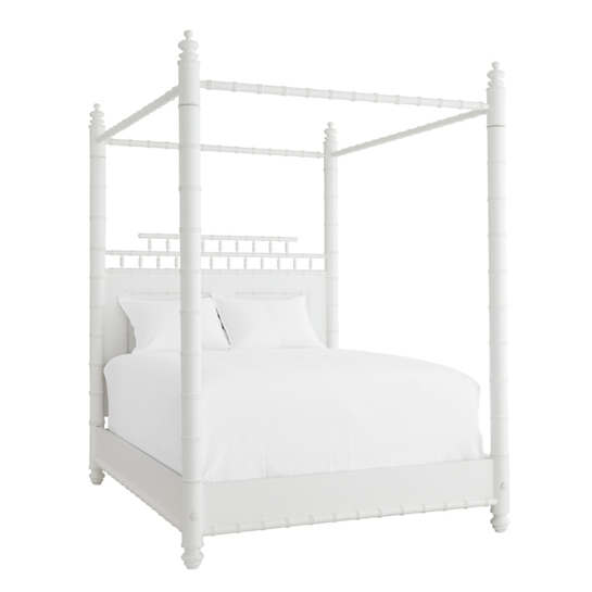 Dove White Mallory Bed