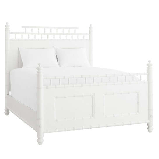 Dove White Winston Bed