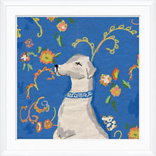 Dressy Dog Wall Art
