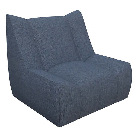 Sunbrella Denim Heathered Dune Chair