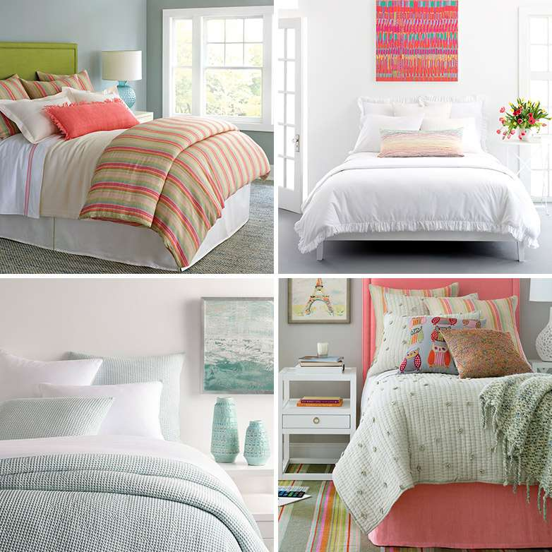 How To Choose Between A Duvet Cover Quilt And Coverlet Annie Selke