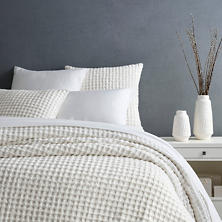 Gridwick Dove White Duvet Cover