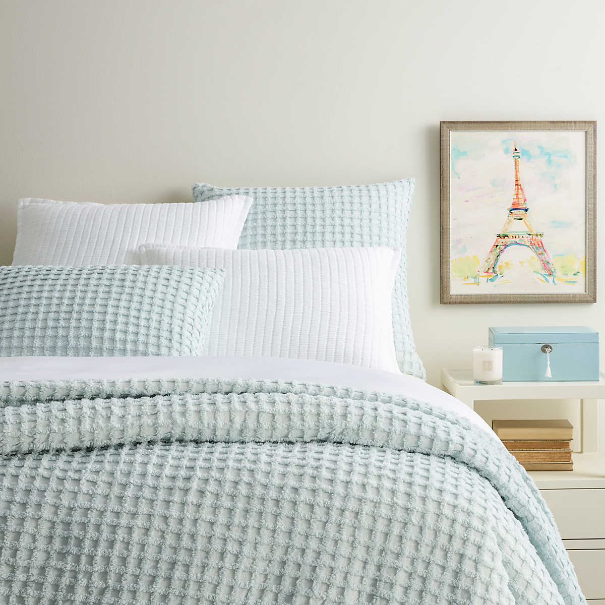 Gridwick Robin S Egg Blue Duvet Cover Pine Cone Hill