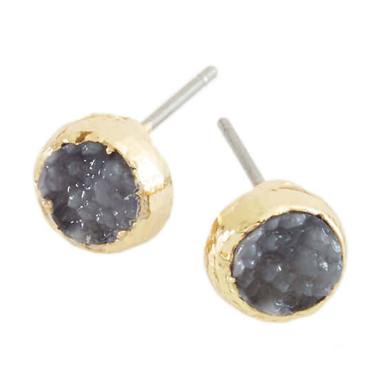 Lucille Gray Earrings