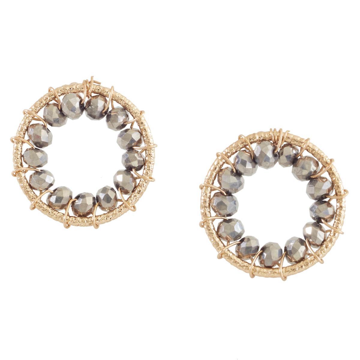 Marta Hematite Earrings